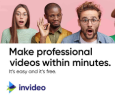 InVideo - Create videos within minutes
